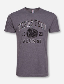 "Texas Tech ""Alumni Ring"" Heather Grey T-Shirt"