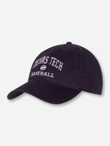 Legacy Texas Tech Baseball Adjustable Navy Cap
