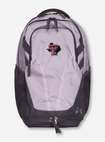 """Under Armour Texas Tech """"Hustle III"""" Lone Star Pride White Back Pack"""