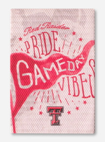 Texas Tech Red Raiders Pride Gameday Vibes Canvas Wrapped Magnet