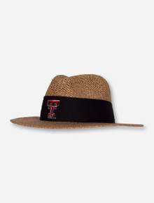 "Texas Tech Double T ""Angler"" Twisted Straw Hat"