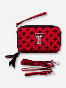 Vera Bradley Texas Tech All-in-One Crossbody Wallet