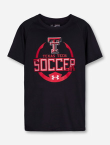 Under Armour Texas Tech Soccer YOUTH T-Shirt