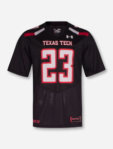 Under Armour Texas Tech Red Raiders #23 Sideline Jersey