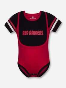 "Arena Texas Tech Red Raiders ""Roll-Out"" INFANT Onesie & Bib Set"