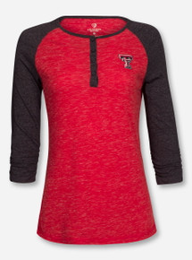 "Arena Texas Tech Red Raiders ""Slopestyle"" 3/4 Sleeve COTL30650"