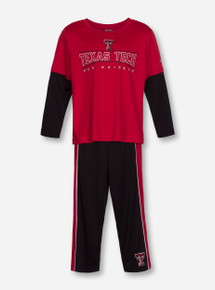"Arena Texas Tech Red Raiders ""Pointer"" TODDLER Long Sleeve & Pants Set"