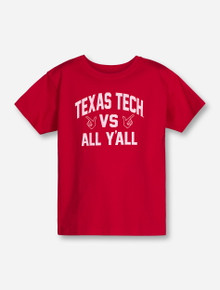 """Texas Tech Red Raiders """"All Y'all"""" YOUTH T-Shirt"""