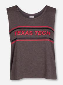 "Zoozatz Texas Tech ""Chop Block"" Muscle Tank"