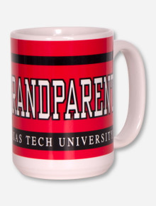 Texas Tech Grandparent Red & White Coffee Mug