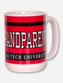 Texas Tech Grandparent Red & White Coffee Mug