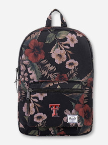 "Herschel Texas Tech Red Raiders ""Heritage"" Floral Backpack"