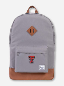 "Herschel Texas Tech Red Raiders ""Heritage"" Grey Backpack"