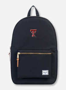 "Herschel Texas Tech Red Raiders ""Settlement"" Black Backpack"