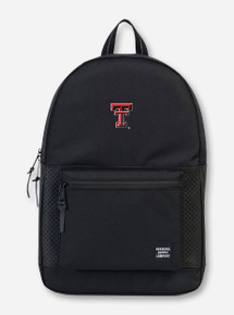 "Herschel Texas Tech Red Raiders ""Settlement Aspect"" Black Backpack"