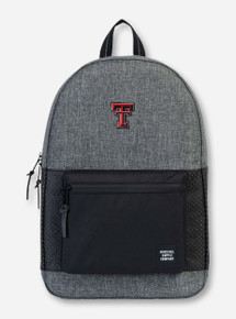 "Herschel Texas Tech Red Raiders ""Settlement Aspect"" Black & Charcoal Backpack"