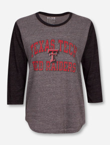 Blue 84 Texas Tech Red Raiders Triblend Raglan