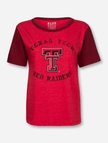 "Texas Tech Red Raiders ""Guns Up Back"" Triblend T-Shirt"