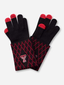 Emerson Street Texas Tech Red Raiders Two-Tone Knit Gloves