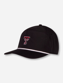 """Imperial Texas Tech Red Raiders """"Harris"""" Double T Snapback Cap"""