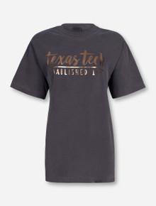 """Texas Tech Red Raiders """"One Script Foil"""" T-Shirt"""