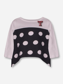 "Texas Tech Red Raiders Garb ""Avril"" TODDLER Polka Dot Shirt"