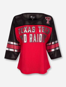 Texas Tech Red Raiders Ladies Mesh Jersey Shirt