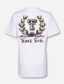 """Texas Tech Red Raiders """"Cotton Wreath"""" T-Shirt"""