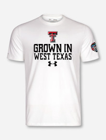 "Under Armour 2017 Texas Tech ""Grown in West Texas"" Cotton Game T-Shirt"