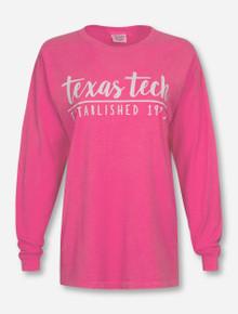Texas Tech Red Raiders Color Script Long Sleeve Shirt