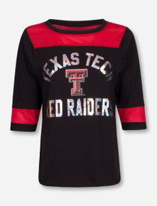 Texas Tech Red Raiders Jersey Shoulder Tee