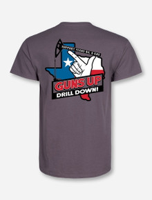 "Texas Tech Red Raiders ""Guns Up Drill Down"" T-Shirt"