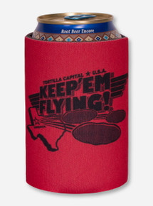 Texas Tech Red Raiders Keep 'Em Flying Can Cooler