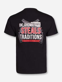 Texas Tech Red Raiders Oklahoma State Steals Traditions T-Shirt