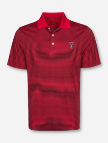 "Cutter & Buck Texas Tech Red Raiders ""Trevor Stripe"" Polo"