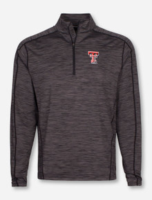 """Levelwear Texas Tech Red Raiders Insignia Strong """"Armour"""" 1/4 Zip Pullover"""