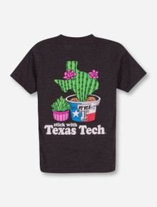 Texas Tech Red Raiders Stick with Tech YOUTH T-Shirt