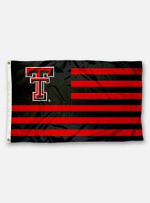 Texas Tech Red Raiders United States of TTU 3' x 5' Applique Flag