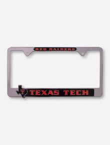 Texas Tech Red Raiders Pride License Plate Frame