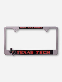 Texas Tech Red Raiders Pride License Plate Frame