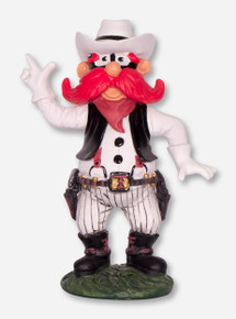 Texas Tech Red Raiders Raider Red Painted Statue