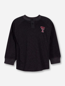 "Texas Tech Red Raiders Garb ""Hunter"" TODDLER Long Sleeve Henley Tee"