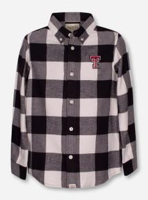 "Texas Tech Red Raiders Garb ""Nicholas"" YOUTH Flannel Button Up Shirt"