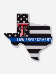 Texas Tech Law Enforcement Decal