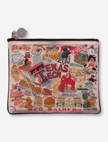 CatStudio Texas Tech Red Raiders Makeup Pouch