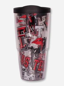 """Tervis Texas Tech Red Raiders """"All Over Vault"""" 24oz Travel Tumbler"""
