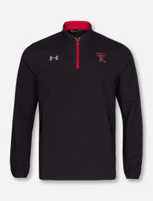 "Under Armour Texas Tech Red Raiders ""Sideline Cage"" 1/4 Zip Pullover"