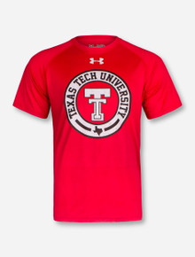 "Under Armour 2017 Texas Tech Red Raiders ""Vintage Branded"" T-Shirt"