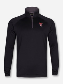 Under Armour Texas Tech Red Raiders Doube T Tech Terry Quarter Zip Pullover