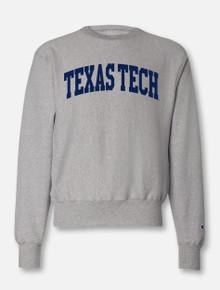 Texas Tech Red Raiders Arch Reverse Weave Crew Sweatshirt